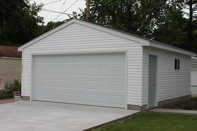 Minneapolis Garage Builders St Paul Detached Garage