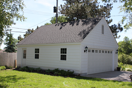 St louis park detached garages western garage builders for Cost to build a garage st louis