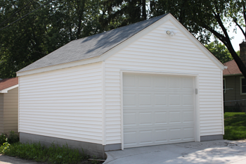 Minneapolis Garage Builders Single Car Garage Size