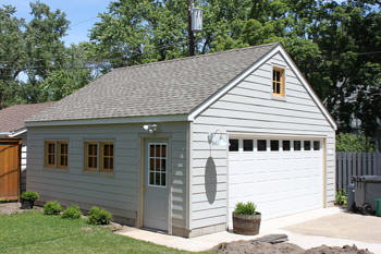 Garage Builders Minnesota Two Car Garage Size