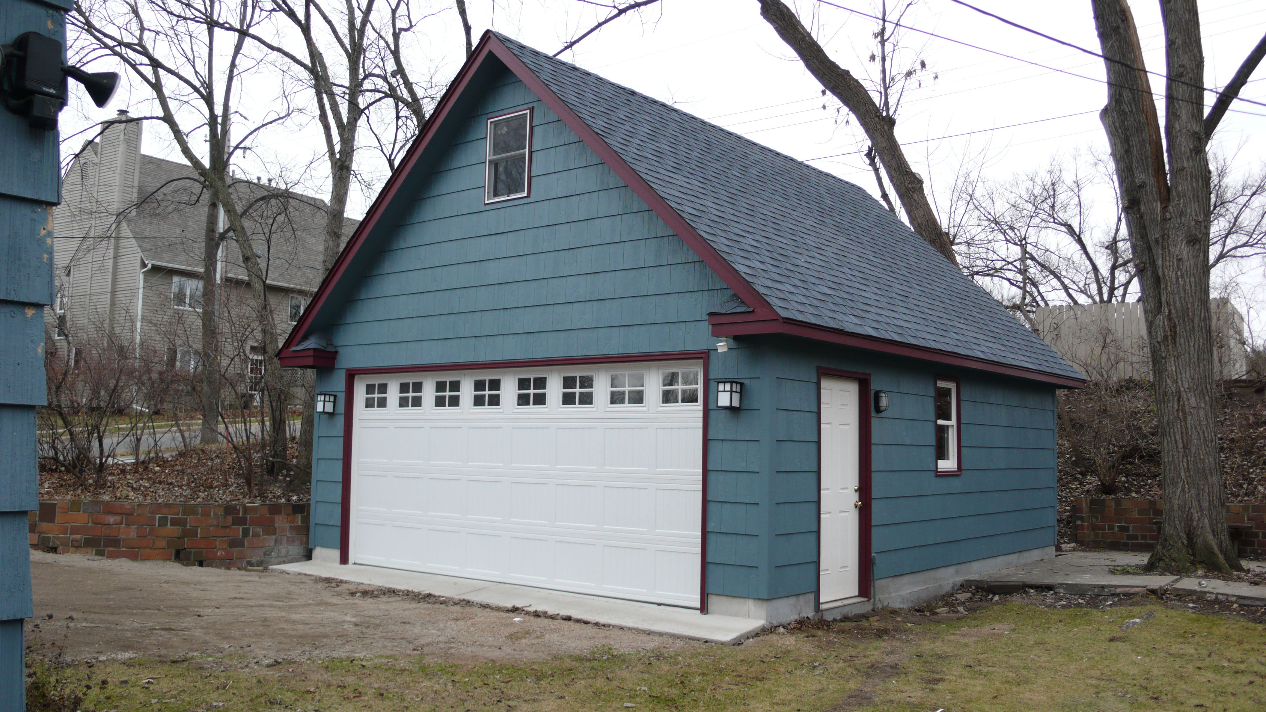 St Paul Two Story Garages