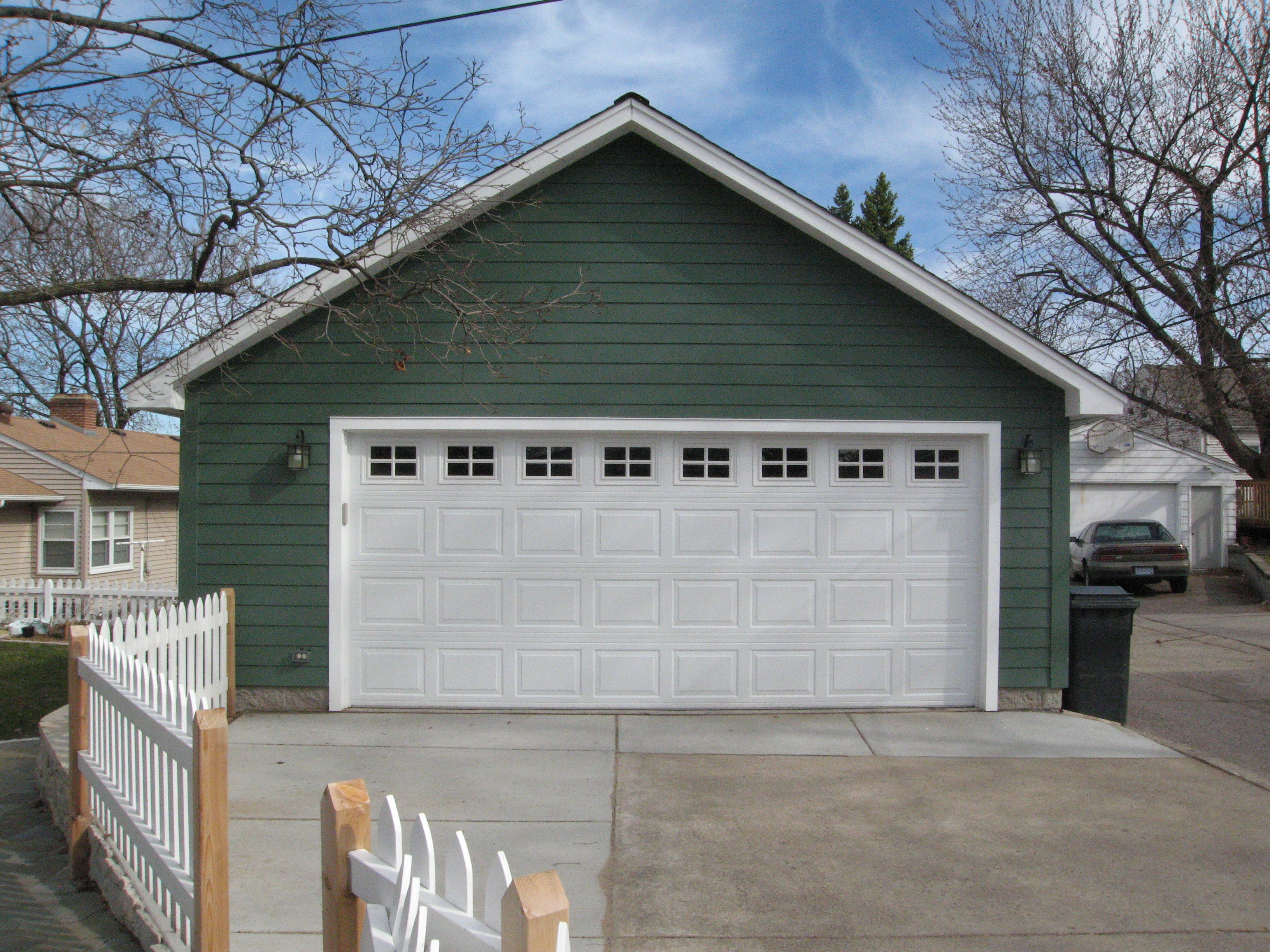 Storage truss garage plan for Build your garage online