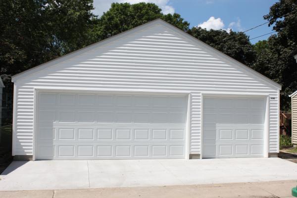 Building A Minneapolis Three Car Garage Isnu0027t Always Easy