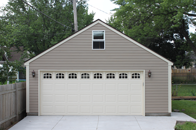 Two Car Mpls Garage