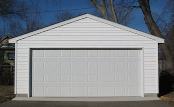 Western Garage Builders most popular 2 Car Garage style