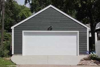 Garage builders mn garage sizes garage designs for How big is a standard two car garage
