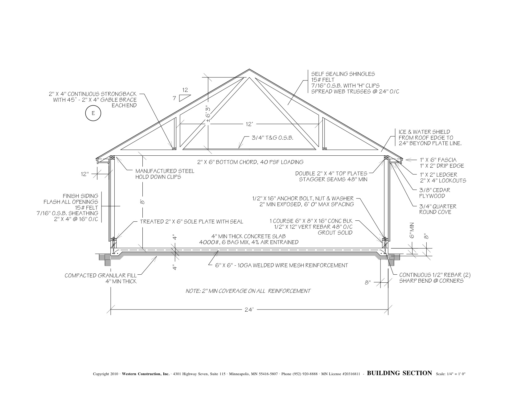 Garage Construction Plans