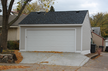 2 Car Garage Roof Style Reverse