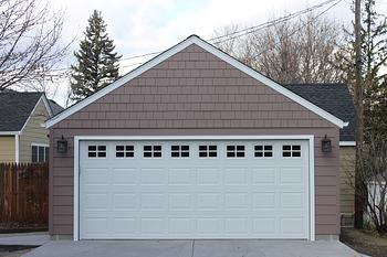 2 car Garble Roof Garage