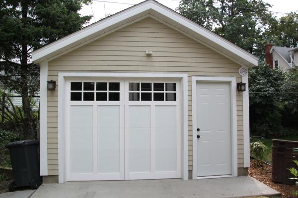 Small Car Garage : Affordable detached garage builder single car garages