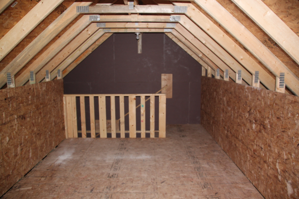Garage Room In Attic Truss Staircase V S Ladder & Room In Attic Truss Cost - Image Balcony and Attic Aannemerdenhaag.Org