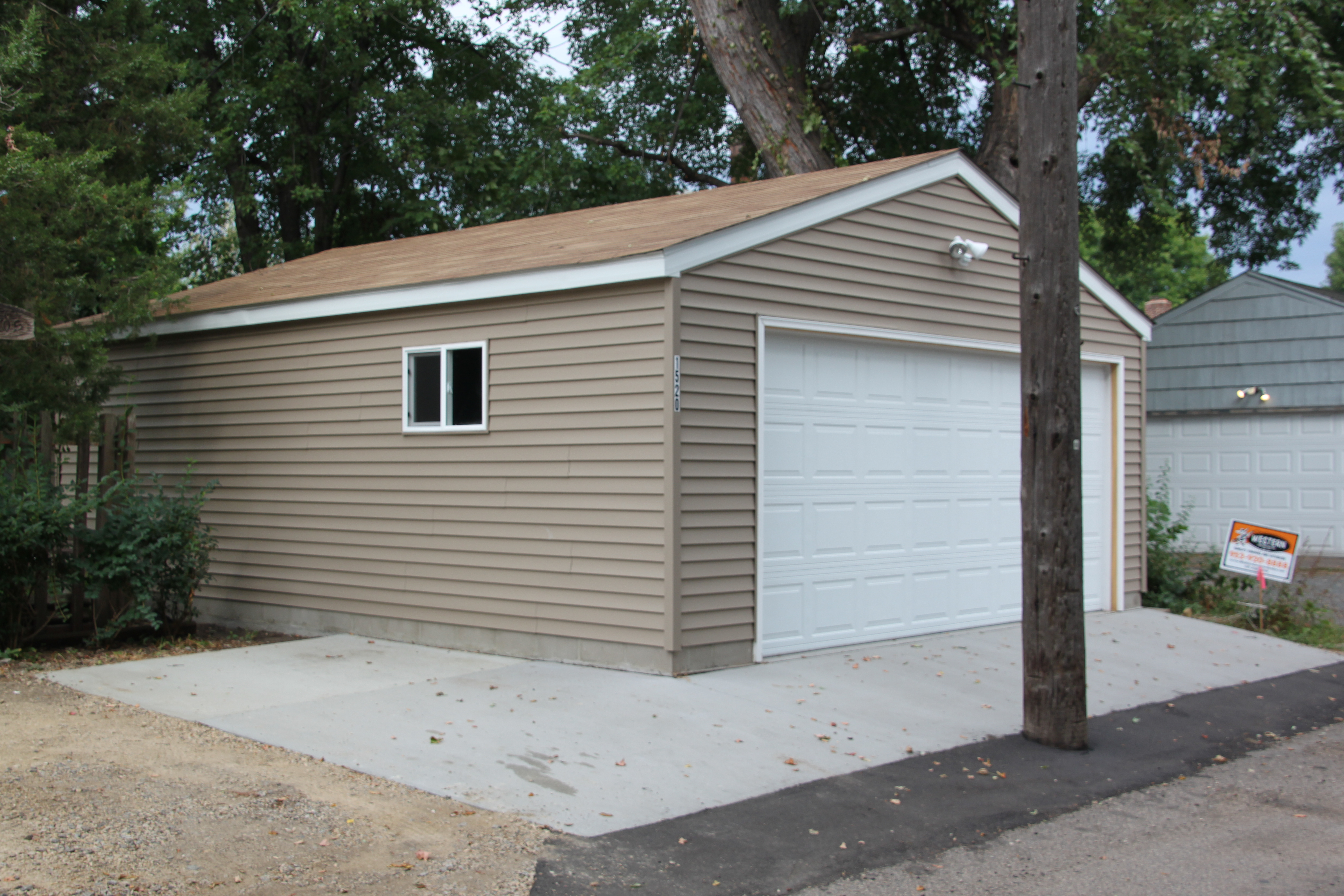 St Paul Garage Location Issues