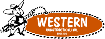 Western Construction Inc. Minneapolis Garage Builders Logo