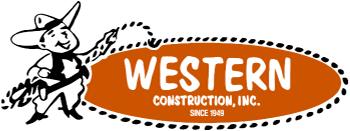 Western Construction Inc. Minneapolis Garage Builders Logo