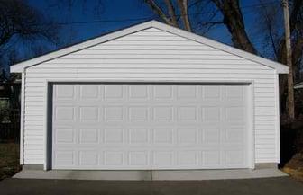 20x22 Detached Garage Western Construction, Inc. - 1
